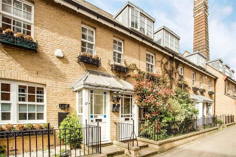 3 Bedrooms Terraced House for sale in Streatley Place, Hampstead, London, NW3