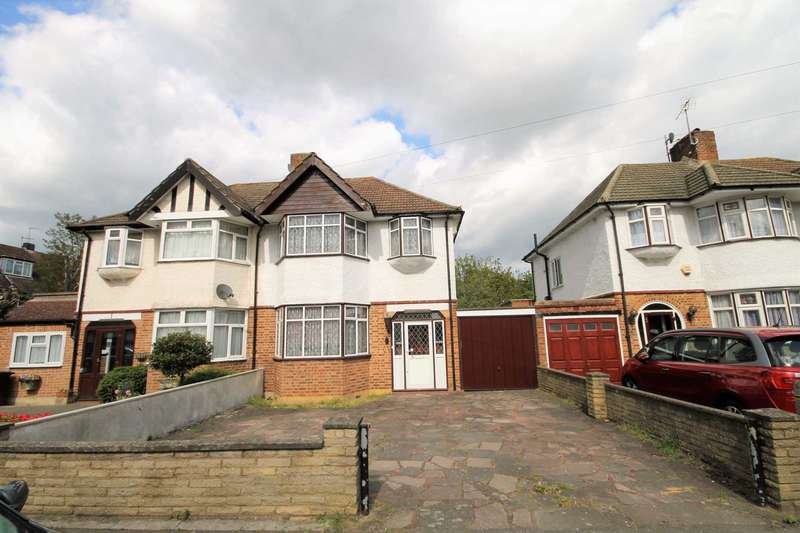 3 Bedrooms Semi Detached House for sale in Rutland Drive, Morden