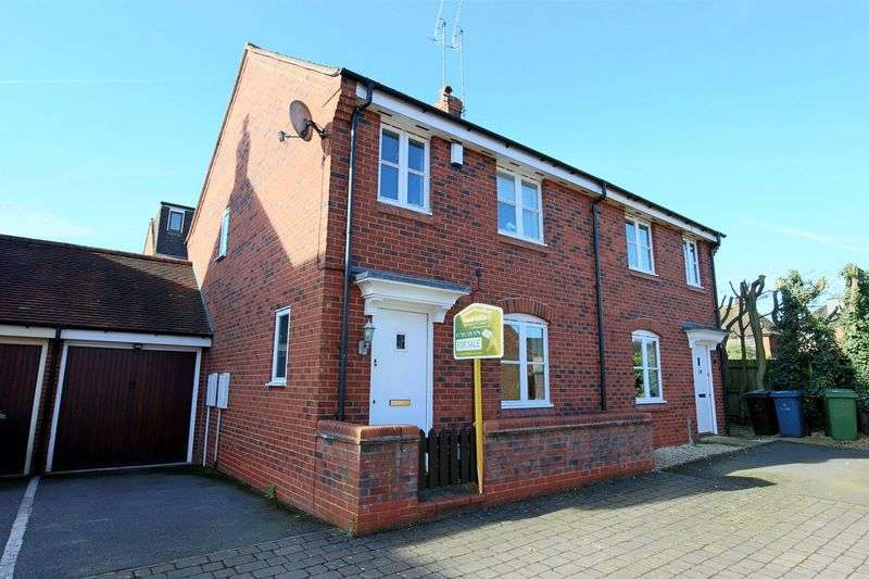 3 Bedrooms Semi Detached House for sale in Spring Hollow, Stafford