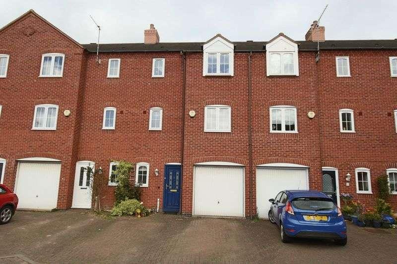 4 Bedrooms Terraced House for sale in Bridge Court, Woodseaves, Stafford