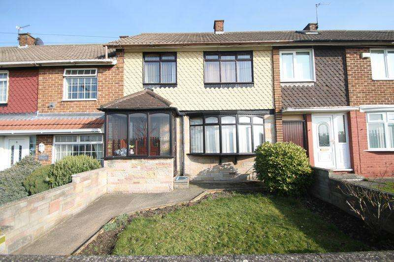 3 Bedrooms Terraced House for sale in Eccleston Walk, Easterside, Middlesbrough TS4 3PG