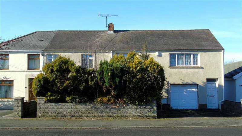 4 Bedrooms Semi Detached House for sale in Glynhir Road, Swansea, SA4