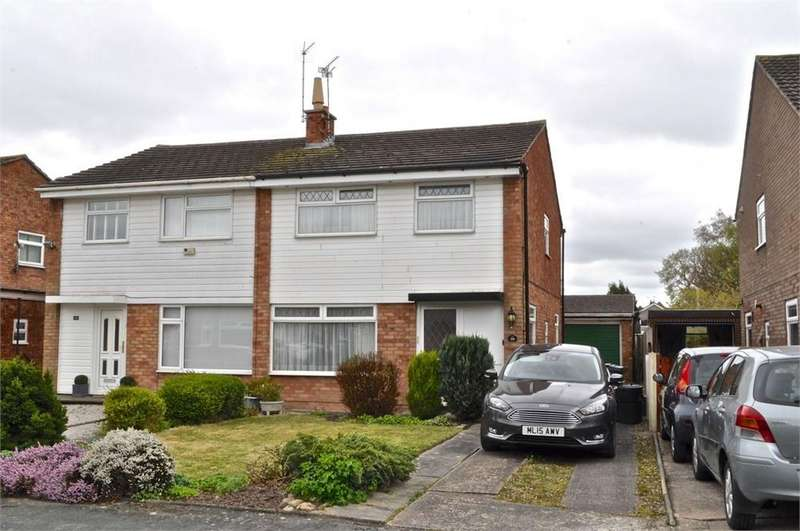 3 Bedrooms Semi Detached House for sale in Needham Drive, Hartford, Northwich, Cheshire