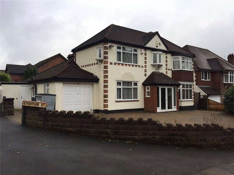 5 Bedrooms Detached House for sale in Lordswood Road, Harborne, Birmingham, B17