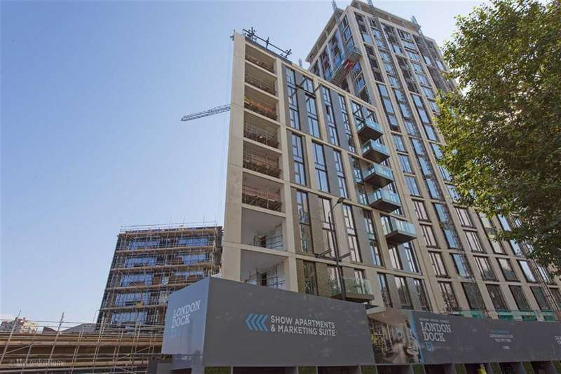 1 Bedroom Property for sale in Admiral Wharf, Wapping, London, E1W