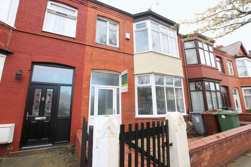 3 Bedrooms Terraced House for sale in Annesley Road, Wallasey, Wirral