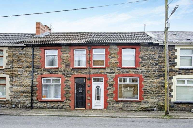 3 Bedrooms Terraced House for sale in Francis Street, Pontypridd, Mid Glamorgan, CF37