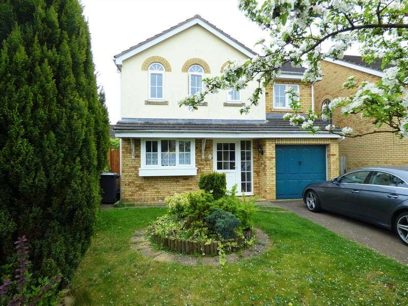 4 Bedrooms Detached House for sale in Breezehill, Northampton