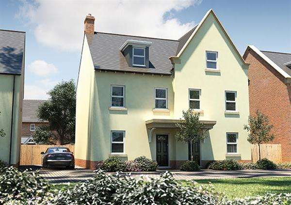 3 Bedrooms House for sale in The Chastleton, Seabrook Orchard, Topsham