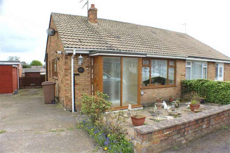 2 Bedrooms Semi Detached Bungalow for sale in Scarborough Crescent, Bridlington, East Yorkshire