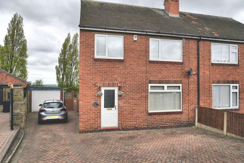 3 Bedrooms Semi Detached House for sale in Buckleigh Road, Wath-upon-dearne
