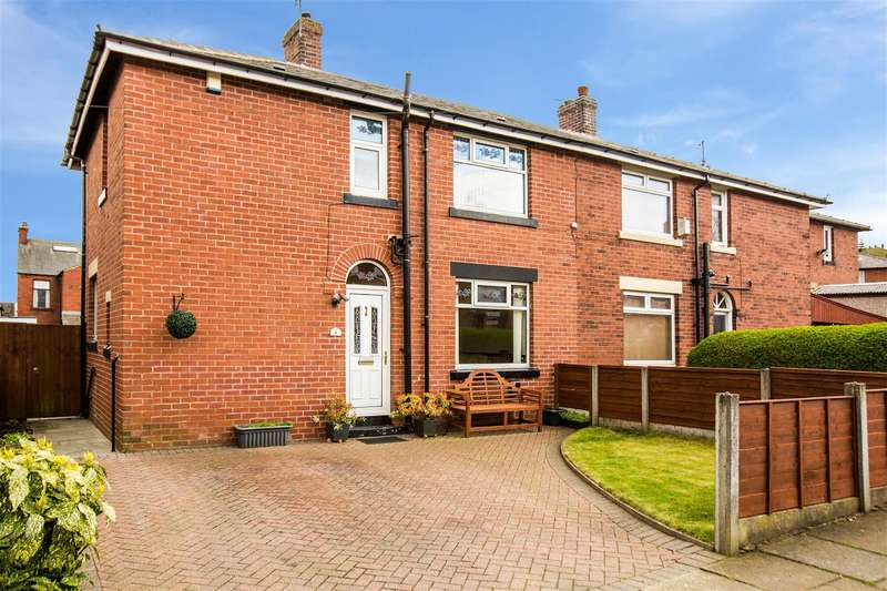3 Bedrooms Semi Detached House for sale in Whalley Avenue, Shore, Littleborough, OL15 9HS