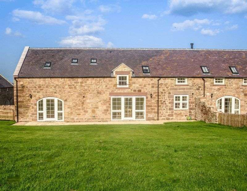 4 Bedrooms Terraced House for sale in Mount Hooley Farm, Beal, Nr Holy Island Berwick-Upon-Tweed