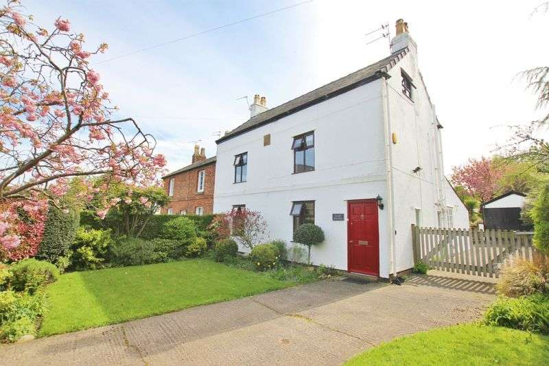 4 Bedrooms Semi Detached House for sale in Frankby Road, Frankby Village, Wirral