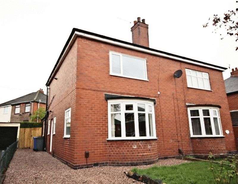 2 Bedrooms Semi Detached House for sale in Crossway Road, Sneyd Green