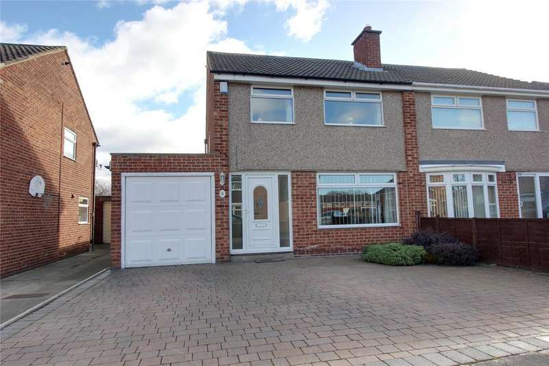 3 Bedrooms Semi Detached House for sale in Ricknall Close, Acklam