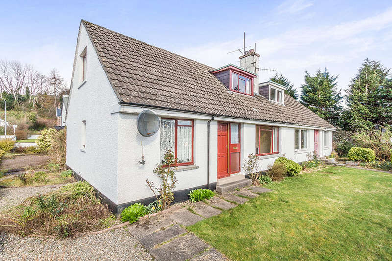 3 Bedrooms Semi Detached Bungalow for sale in Murray Square, Lochcarron, Strathcarron, IV54