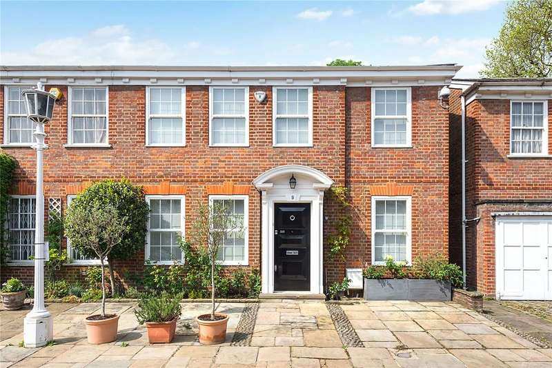 4 Bedrooms House for sale in Pembroke Gardens Close, Kensington, London