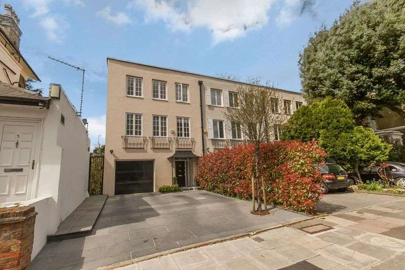 5 Bedrooms Terraced House for sale in North Grove, Highgate Village, N6