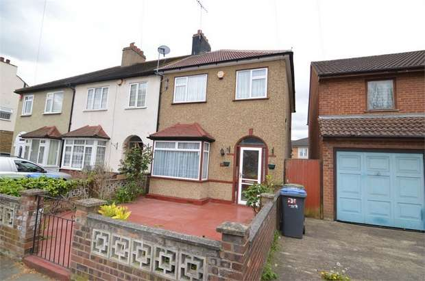 3 Bedrooms End Of Terrace House for sale in Catherine Road, Enfield, Greater London