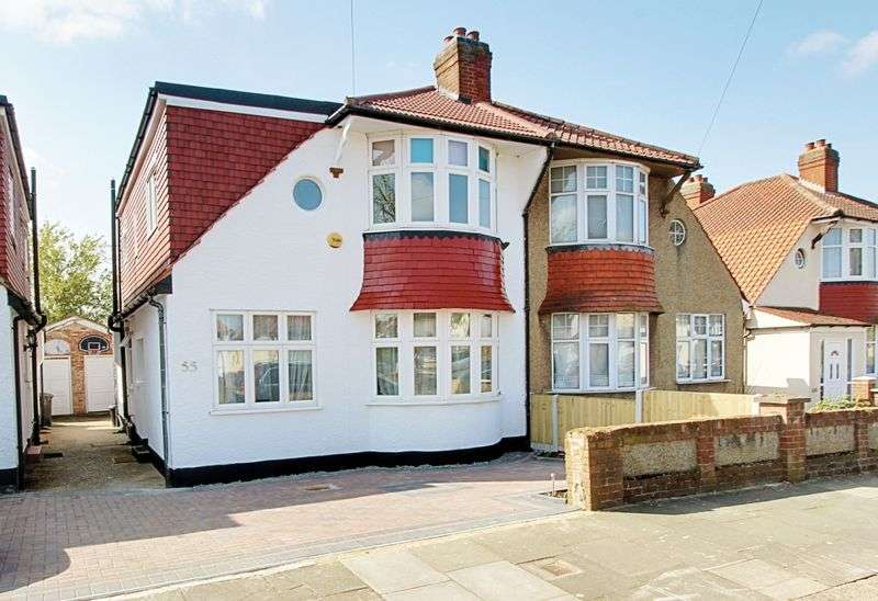 4 Bedrooms Semi Detached House for sale in Greenford Gardens, Greenford