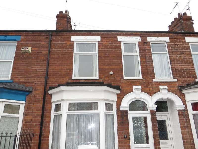 2 Bedrooms Terraced House for sale in Perth Street, Hull, East Yorkshire, HU5 3NL