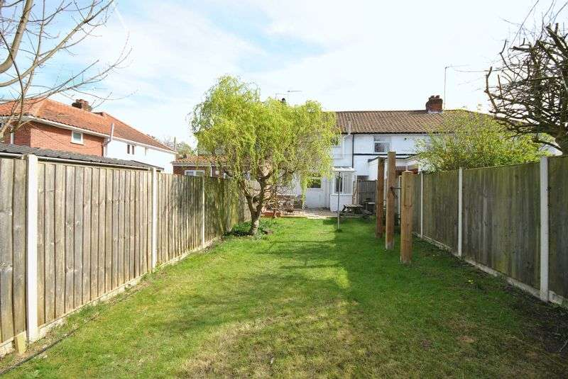 2 Bedrooms Terraced House for sale in Tusting Close, Norwich