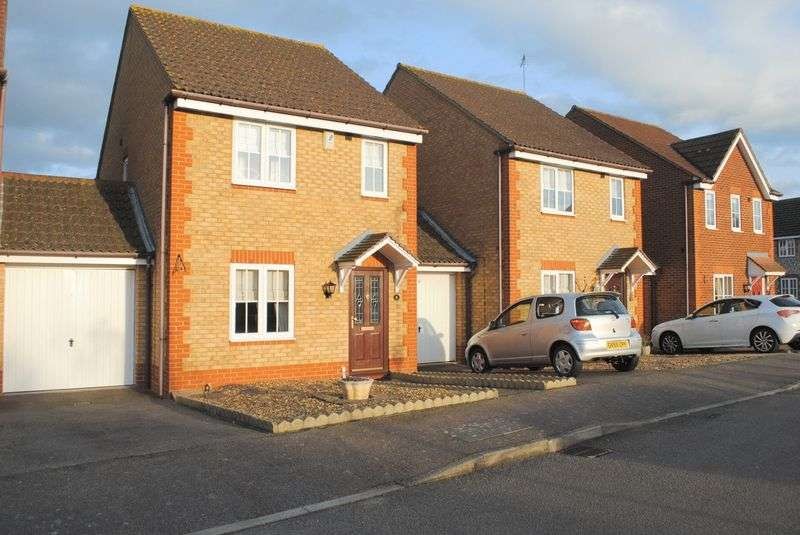 3 Bedrooms Semi Detached House for sale in Fuchsia Way, Rushden