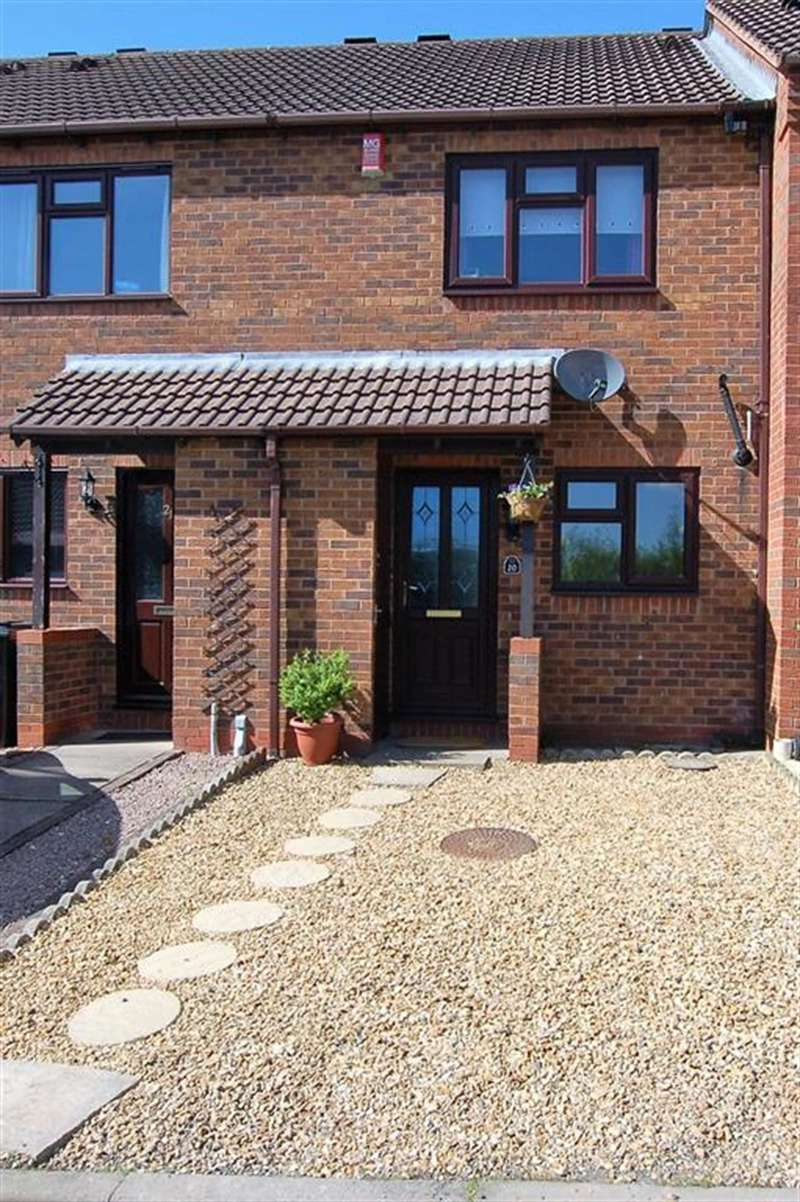 2 Bedrooms Terraced House for sale in Perrott Gardens, Brierley Hill, DY5 3FF