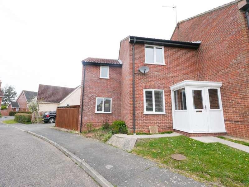 3 Bedrooms End Of Terrace House for sale in Warene Close, Framlingham