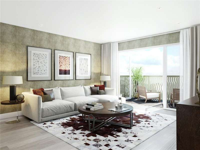 2 Bedrooms Flat for sale in Bath House, Smithfields Square, N8