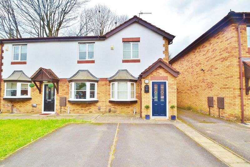 2 Bedrooms Semi Detached House for sale in Signal Close, Manchester