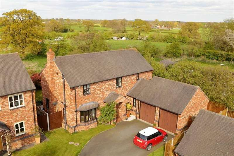4 Bedrooms Detached House for sale in Whixall Green, Whitchurch, SY13