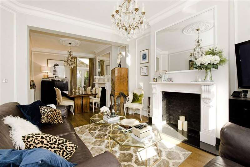 5 Bedrooms Terraced House for sale in Voltaire Road, Clapham, London, SW4