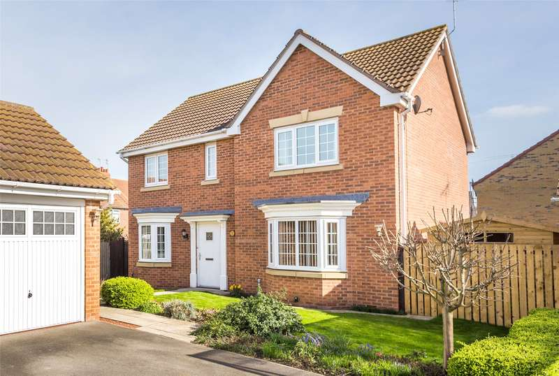 4 Bedrooms Detached House for sale in Abbots Mews, Selby, YO8