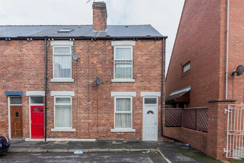 3 Bedrooms End Of Terrace House for sale in Molloy Place, Meersbrook, Sheffield, S8