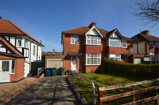 3 Bedrooms Semi Detached House for sale in Ellesmere Avenue, Mill Hill