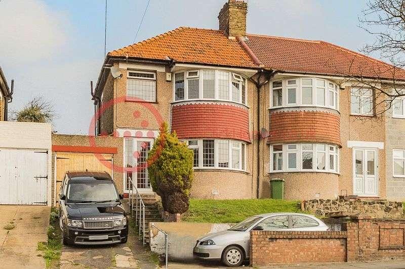3 Bedrooms Semi Detached House for sale in Okehampton Crescent, Welling DA16