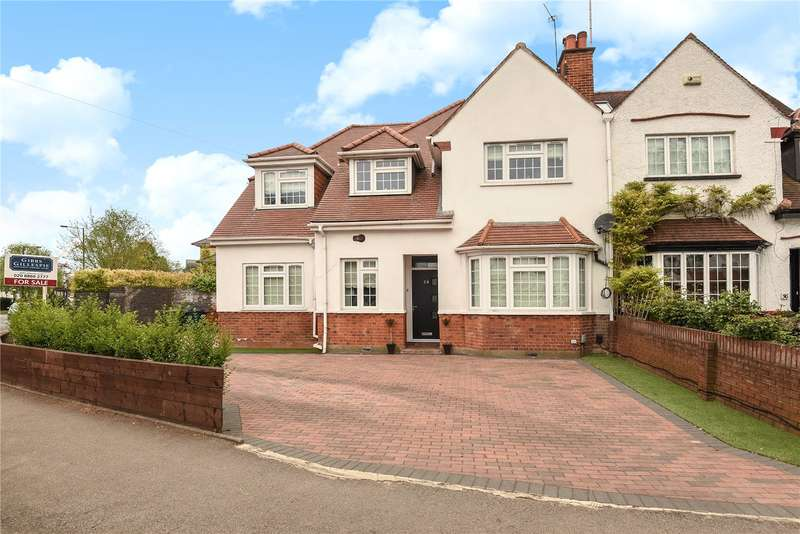 4 Bedrooms Semi Detached House for sale in Eastcote Road, Pinner, Middlesex, HA5