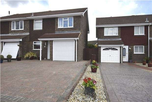 3 Bedrooms End Of Terrace House for sale in Glebe Close, BEXHILL-ON-SEA, East Sussex, TN39 3UY