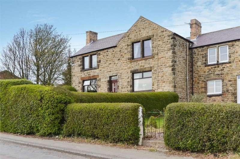 3 Bedrooms Semi Detached House for sale in South View, Shilbottle, ALNWICK, Northumberland