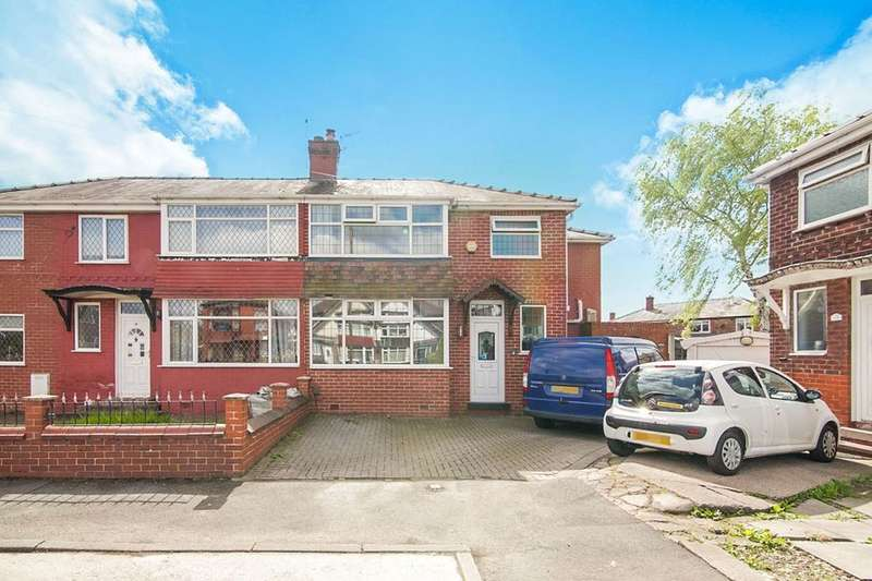 4 Bedrooms Semi Detached House for sale in Sheringham Drive, Swinton, Manchester, M27