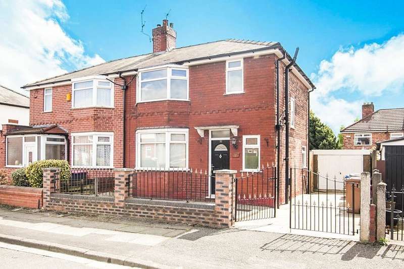 3 Bedrooms Semi Detached House for sale in Brookfield Drive, Swinton, Manchester, M27