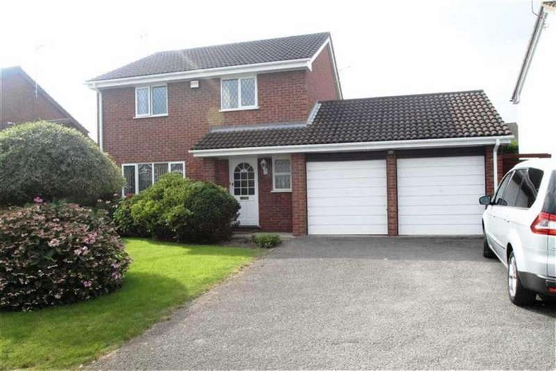 4 Bedrooms Detached House for sale in Campbell Close, Rossett