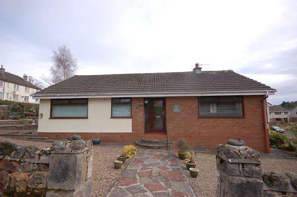 3 Bedrooms Detached Bungalow for sale in 1 Speirs Road, Lochwinnoch, PA12 4BS