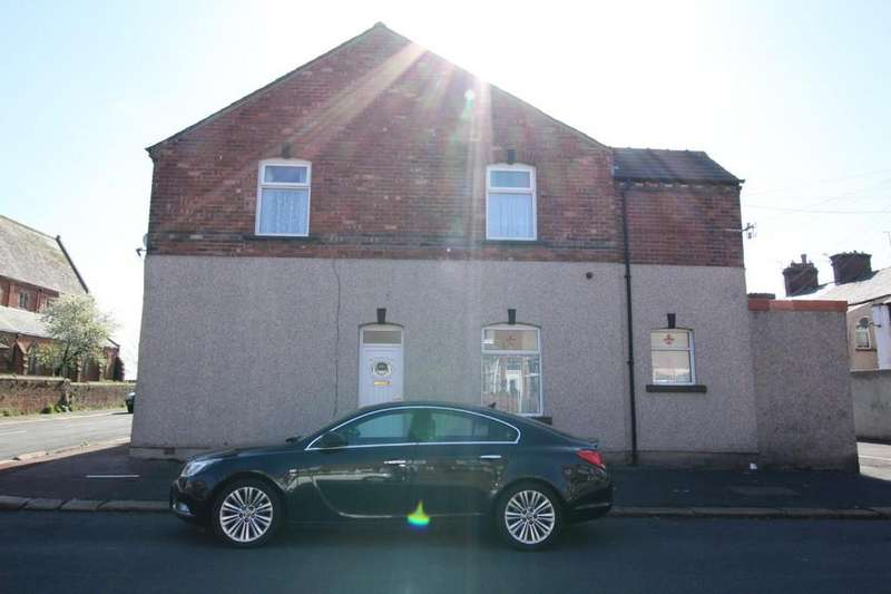 2 Bedrooms End Of Terrace House for sale in 149 Hartington Street, Barrow-In-Furness