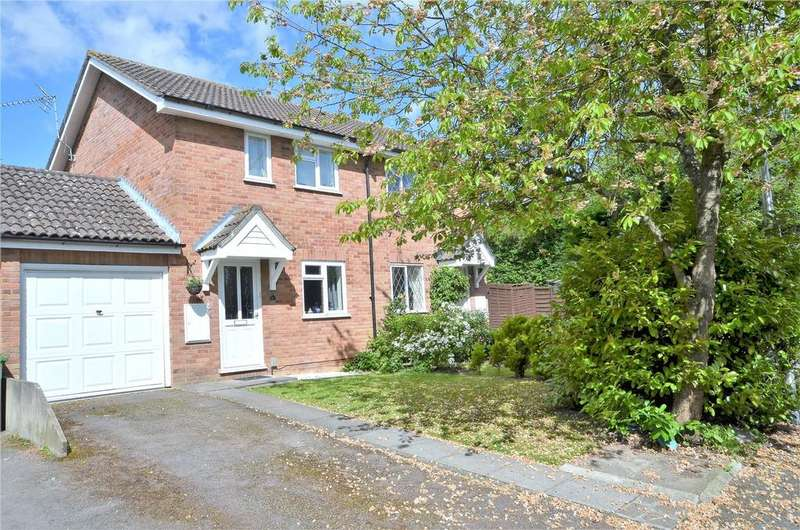 2 Bedrooms Semi Detached House for sale in Chestnut Close, Theale, Reading, Berkshire, RG7
