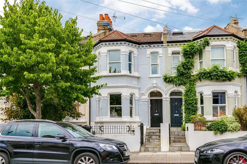 4 Bedrooms Terraced House for sale in Bucharest Road, Earlsfield, London