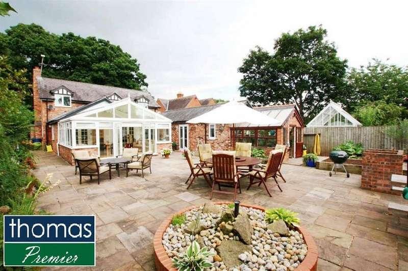 5 Bedrooms Detached House for sale in Quarry Lane, Christleton