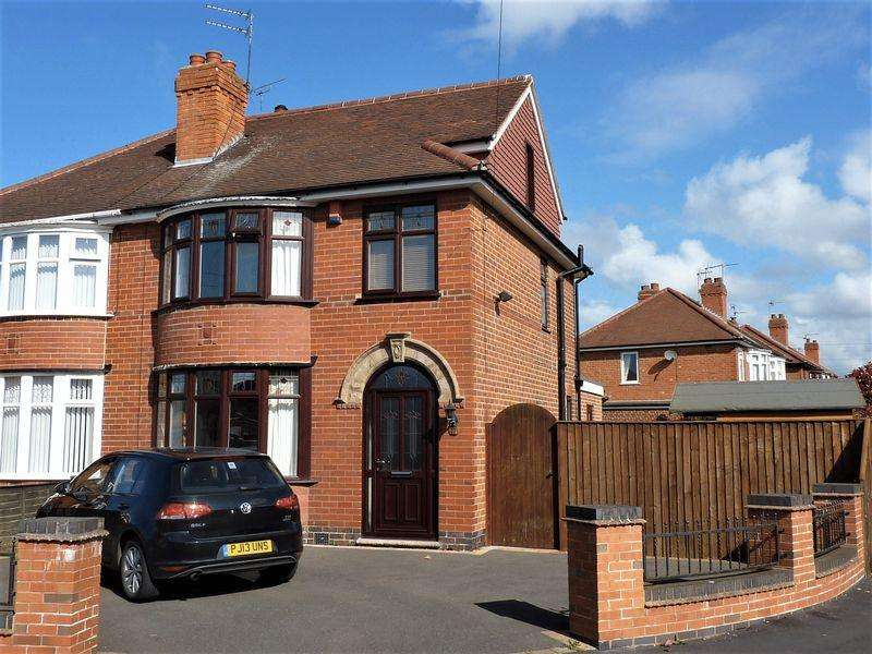 4 Bedrooms Semi Detached House for sale in Moorhead Avenue, Alvaston